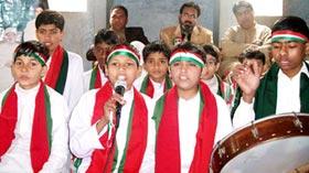 سیدہ شاہجہاں منہاج القرآن اسلامک سنٹر کے زیراہتمام قائد ڈے کی تقریب