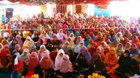 منہاج القرآن ویمن لیگ علی پور چٹھہ کے زیر اہتمام محفل میلاد