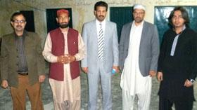منہاج القرآن اسلامک سنٹر مانکیالہ مسلم میں سعودی عرب کے الشیخ محمد الیاسین کا دورہ