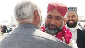 تحریک منہاج القرآن ڈسکہ کے صدر محمد اسلم قادری کا عمرہ سے واپسی پر شاندار استقبال