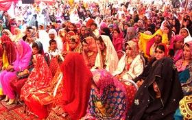 تحریک منہاج القرآن دولتالہ کے زیرانتظام 23 شادیوں کی اجتماعی تقریب