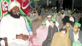 تحریک منہاج القرآن شکر گڑھ کے زیراہتمام عظیم الشان محفل میلاد