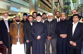 شیخ الاسلام دورہ انڈیا کے بعد برطانیہ پہنچ گئے