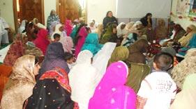 منہاج القرآن ویمن لیگ میرپور کے زیر اہتمام عظیم الشان میلاد کانفرنس