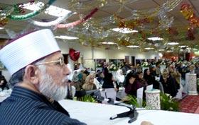 شیخ الاسلام کی کامیاب دورہ بھارت سے واپسی، لندن میں استقبالیہ تقریب