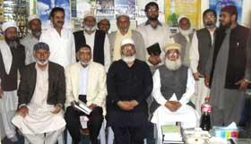 منہاج القرآن گجرات کے فضل قادری کی انگلینڈ روانگی سے قبل الوداعی ملاقات
