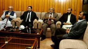 پاکستان عوامی تحریک سندھ کے صدر ایس ایم ضمیر کا سینٹرل ورکنگ کونسل کے اجلاس سے خطاب