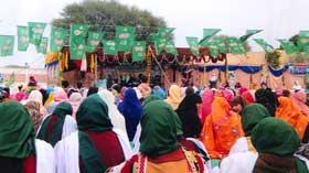 منہاج القرآن ویمن لیگ کوٹلہ کے زیراہتمام محفل میلاد