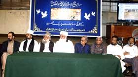 ڈائریکٹوریٹ آف میڈیا کے زیراہتمام شیخ الاسلام کے دورہ بھارت پر نشست کا انعقاد