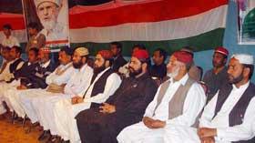 بھنگالی شریف تحصیل گوجرخان میں محفل نعت کا انعقاد