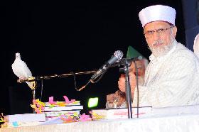 ممبئی میں شیخ الاسلام کا خطاب، لاکھوں افراد کی شرکت