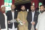 علامہ محمد شکیل ثانی، علامہ عمر مرتضیٰ اور محمد ابوبکر صدیق کی پاکستان آمد اور استقبال