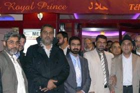 منہاج القرآن انٹرنیشنل فرانس کی طرف سے شیخ زاہد فیاض کے اعزاز میں گرینڈ ڈنر