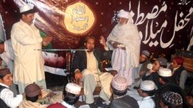 تحریک منہاج القرآن تحصیل مانانوالہ کی UC-99 کے زیراہتمام میلاد مارچ ومحفل