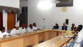 مرکزی نظامت تربیت کی ماہانہ میٹنگ
