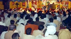تحریک منہاج القرآن دولتالہ حلقہ پی پی 4 کے زیراہتمام میلاد مصطفیٰ (ص) کانفرنس