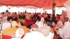 تحریک منہاج القرآن عزیز بھٹی ٹاؤن لاہور کے زیراہتمام محفل میلاد