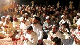 تحریک منہاج القرآن گڑھ موڑ ضلع جھنگ کے زیراہتمام سالانہ درس عرفان القرآن