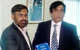 ڈائریکٹر انٹرفیتھ ریلیشنز منہاج القرآن انٹرنیشنل کی اسلام آباد میں وفاقی وزراء وسیکرٹریز سے ملاقات