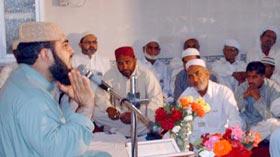 تحریک منہاج القرآن دولتالہ کے یونٹ تراٹی کے زیراہتمام محفل میلاد
