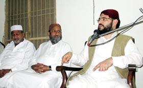 علامہ محمد شکیل ثانی جھنگ میں محفل میلاد سے خطاب