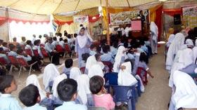 منہاج ماڈل سکول صفدر آباد میں تقریب تقسیم انعامات