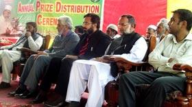 منہاج ماڈل سکول کالا گجراں جہلم میں تقریب تقسیم انعامات