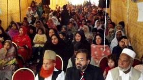 منہاج ماڈل سکول بنگش کالونی راولپنڈی میں تقریب تقسیم انعامات