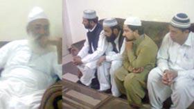 تحریک منہاج القرآن لودہراں کے وفد کی بھرچونڈی شریف (سندھ) حاضری