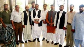 انجمن نوجوانان اسلام پاکستان کا ڈائریکٹر انٹرفیتھ ریلشنز منہاج القرآن کے اعزاز میں ظہرانہ