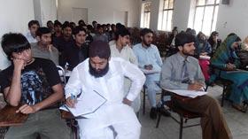 منہاج یونیورسٹی بغداد ٹاؤن میں عرفان القرآن کورس کا آغاز
