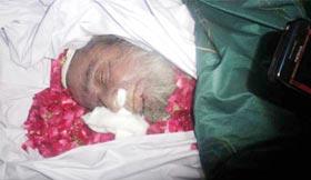سابق ضلعی صدر PAT سیالکوٹ حاجی امین بٹ رضائے الہی سے انتقال کر گئے