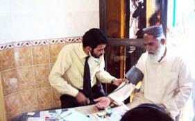منہاج ویلفیئر فاؤنڈیشن کی جانب سے ایک روزہ فری میڈیکل کیمپ