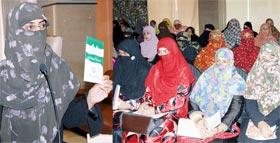 منہاج القرآن ویمن لیگ فیصل آباد کے زیراہتمام تربیتی و تنظیمی ورکشاپ