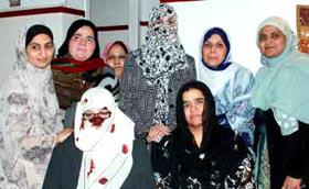 محترمہ غزالہ حسن قادری کا مرکز منہاج القرآن انٹرنیشنل آما سنٹر کا دورہ