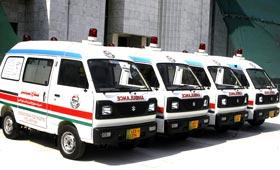 منہاج ویلفیئر فاؤنڈیشن لاہور کے زیراہتمام ایمبولینس سروس کا آغاز