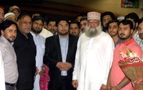 Dr Hussain Mohi-ud-Din Qadri reaches Pakistan