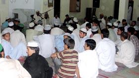 منہاج القرآن یوتھ لیگ اسلام آباد کے زیراہتمام محفل شب بیداری