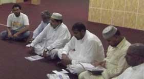منہاج القرآن انٹرنیشنل (ریجوایملیا مودنہ، اٹلی) کی ایگزیکٹو کونسل کا اجلاس