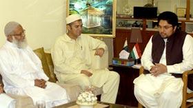 منہاج القرآن انٹرنیشنل امریکہ کے صدر رضی نیازی کا دورہ مرکزی سیکرٹریٹ