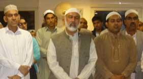 اسلام کا مرکز ومحور آقائے دوجہاں صلی اللہ علیہ وآلہ وسلم کی ذات اقدس ہے: چودھری رازق حسین