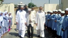 سرگودھا یونیورسٹی کے اسسٹنٹ پروفیسر ڈاکٹر اشفاق احمد شاہ کا منہاج القرآن اسلامک سنٹر (مانکیالہ مسلم) کا دورہ
