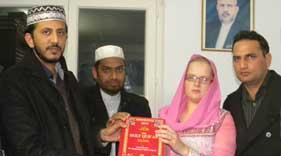 منہاج القرآن انٹرنیشنل (گارج لے گونس، فرانس) میں لتھوینیا کی خاتون کا قبول اسلام