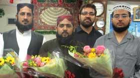 مرکز لاہور سے تشریف لانے والے حفاظ کرام کا منہاج القرآن (جاپان) کے مرکز پہنچنے پر شاندار استقبال