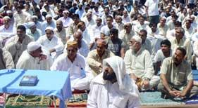 منہا ج القرآن انٹرنیشنل (بادالونا، سپین) کے زیراہتمام رمضان المبارک کے پہلے جمعۃ المبارک کے اجتماع میں ہزاروں افراد کی شرکت