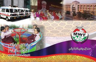 منہاج ویلفیئر فاؤنڈیشن کی سالانہ رپورٹ 2012
