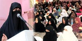 منہاج القرآن ویمن لیگ کے زیراہتمام تنظیمات کیمپ برائے کارکنان 2012ء