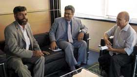 کمیونٹی کے مسائل کے حل کے لئے محمد اقبال چودھری کی پاکستانی قونصل جنرل سے ملاقات