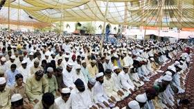 تحریک منہاج القرآن کا 22 واں سالانہ شہر اعتکاف سج گیا