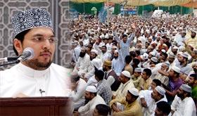 صاحبزادہ ڈاکٹر حسین محی الدین قادری کا تیسرے روز معتکفین سے خطاب
